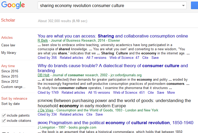 Search In Google Scholar